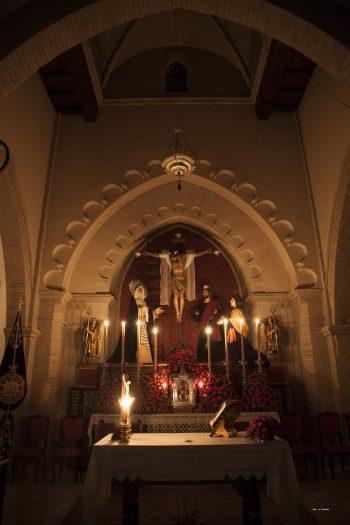 Altar Triduo Cristo Descendimiento